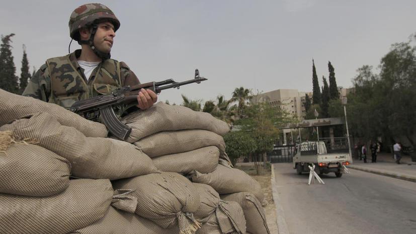 Сирия: атака со стороны Израиля - прямая поддержка террористов
