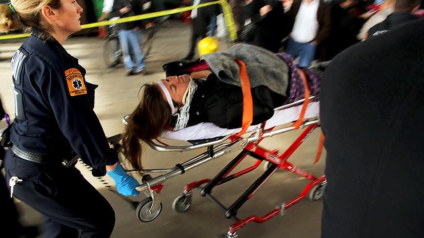 Число пострадавших при крушении парома в Нью-Йорке достигло 85 человек