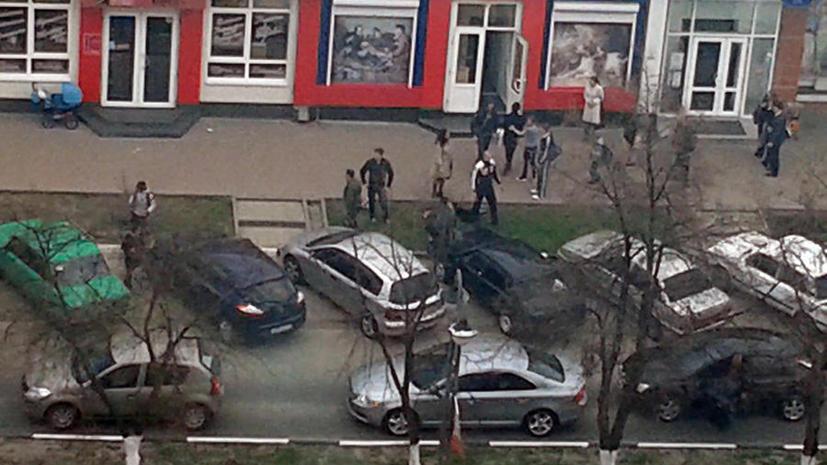 Полиция обнаружила «белгородского стрелка» недалеко от рынка, район оцеплен