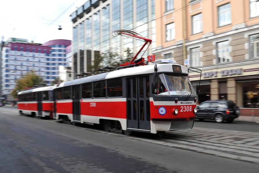Полиция поймала преступника, пырнувшего ножом пассажира московского трамвая
