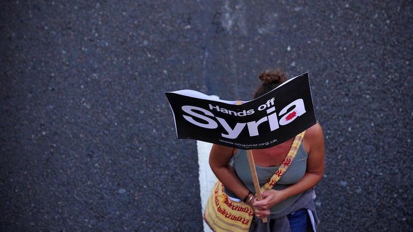 Опрос: Британская общественность выступает против вторжения в Сирию