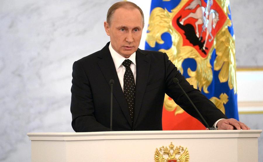 Пять основных тезисов обращения Владимира Путина к Федеральному собранию