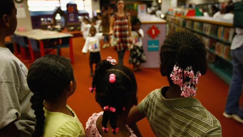 В США огромными темпами увеличивается количество бездомных детей
