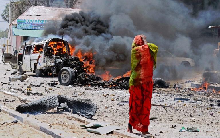 Мощный взрыв в столице Сомали: погибли по меньшей мере 8 человек