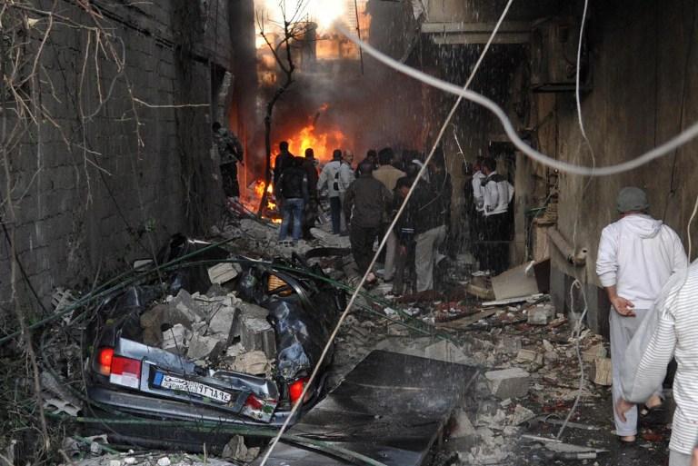 В христианском квартале Дамаска совершен двойной теракт, погибли 34 человека