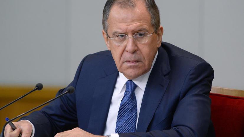 Сергей Лавров: Кураторы киевских властей должны пресечь атаки на российские дипмиссии на Украине