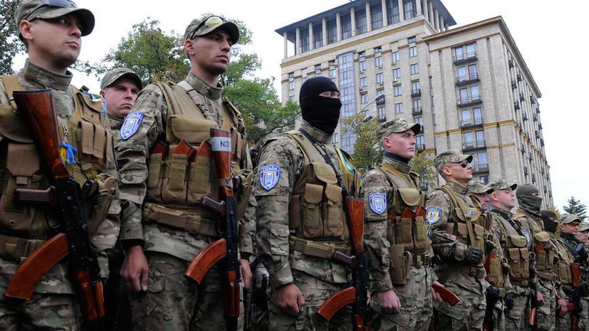 Польские СМИ: В Киеве испугались собственных бандитов из добровольческих батальонов