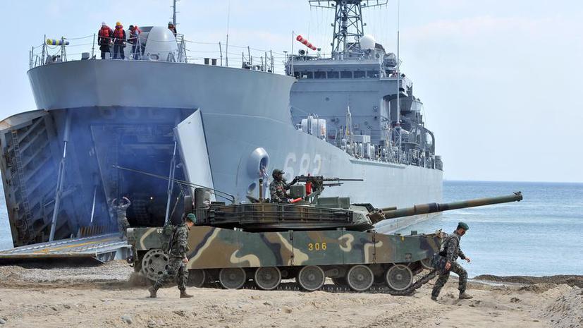 США и Южная Корея начали совместные морские учения, несмотря на возражения КНДР