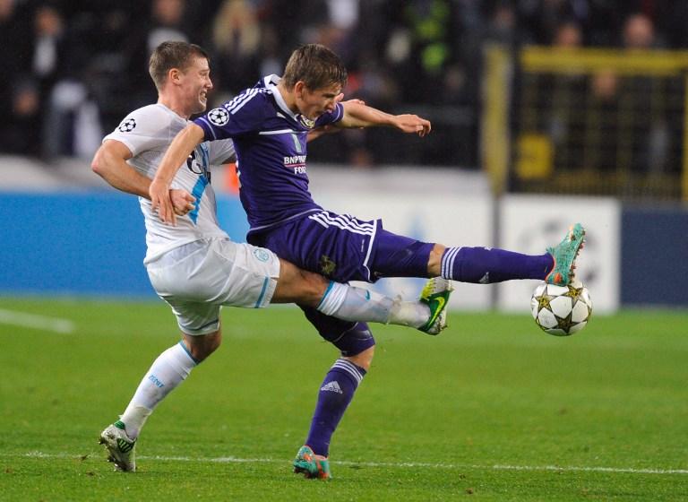 Лига Чемпионов: «Зенит» потерпел поражение от «Андерлехта»