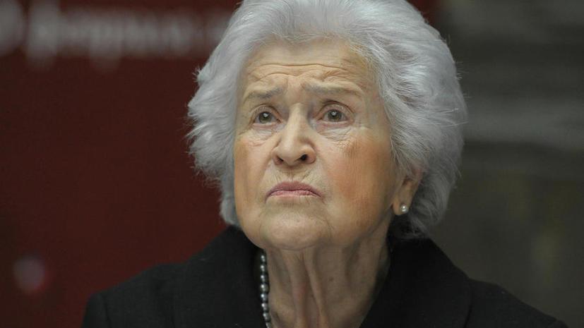 Ирина Антонова  уволена с поста директора музея имени Пушкина и назначена его президентом