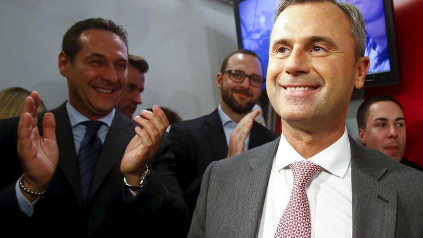 После первого тура президентских выборов в Австрии лидирует кандидат от ультраправых