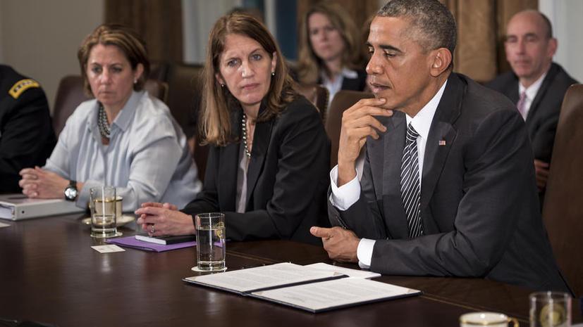 Опрос в США: Большинство американцев по-прежнему не одобряет политику Обамы по ключевым вопросам