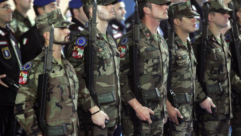 Британская газета предрекла объединённой армии Европы бесславное будущее