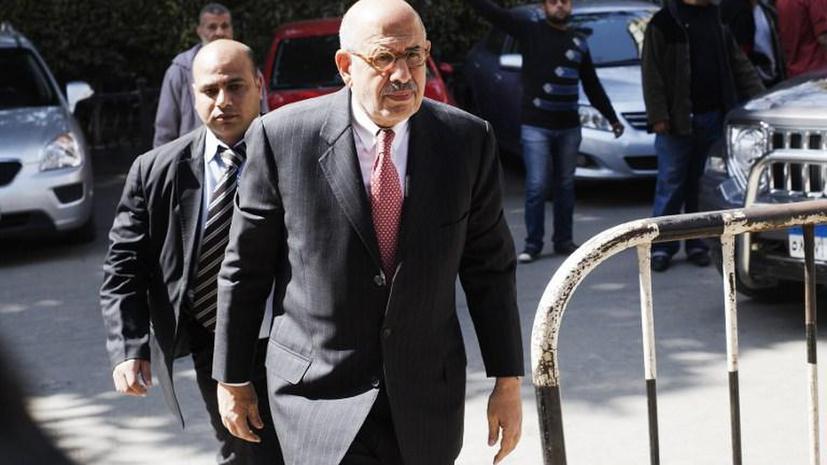 Вице-президент Египта эль-Барадеи подал в отставку на фоне насилия в стране