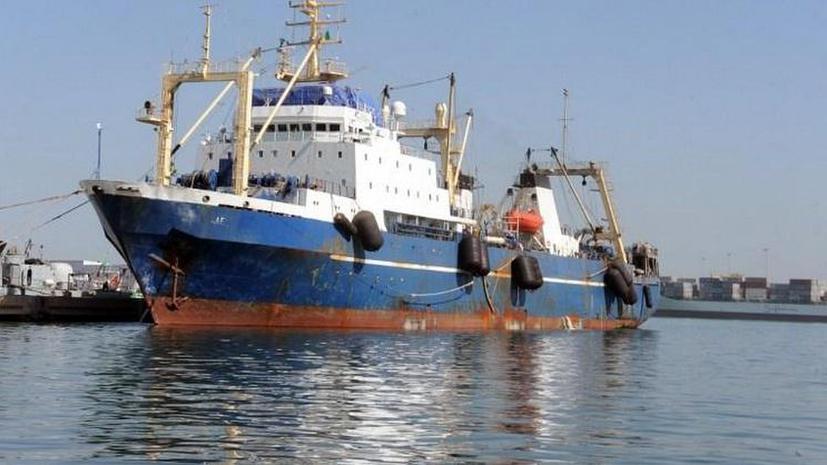 Власти Сенегала позволили капитану «Олега Найдёнова» сойти на берег