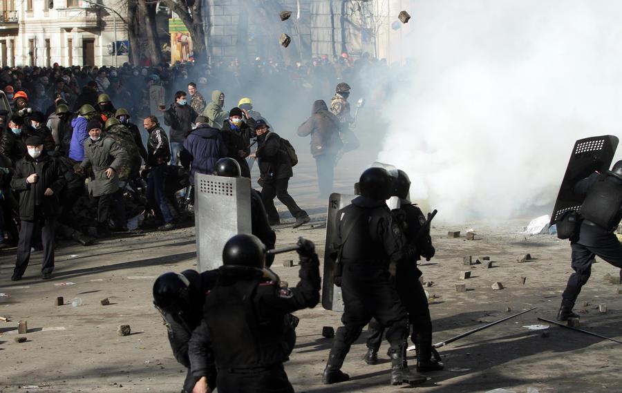Среди пострадавших в Киеве есть гражданин России