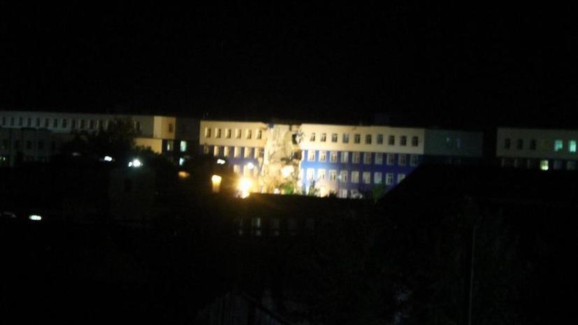 В Омске обрушился корпус военного учебного центра, есть погибшие