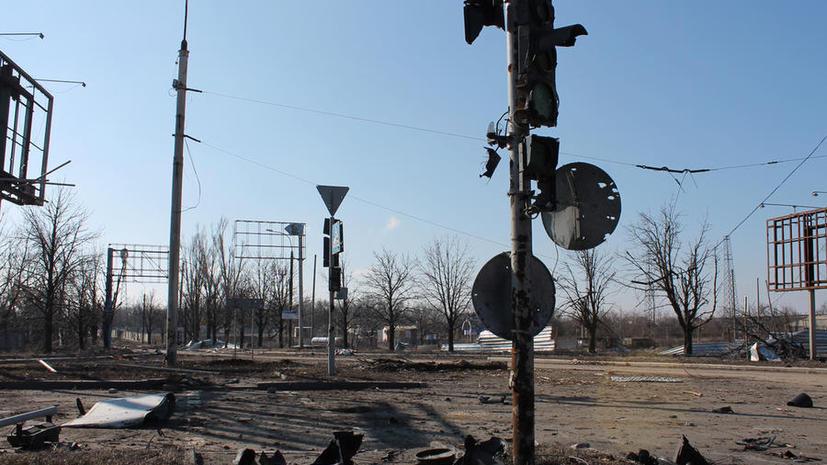 Одному из попавших под обстрел под Донецком журналистов удалось выжить