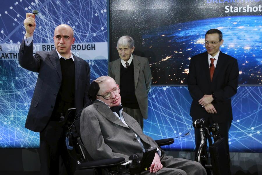Через тернии к звёздам: Юрий Мильнер поможет Стивену Хокингу направить наноаппарат к альфе Центавра