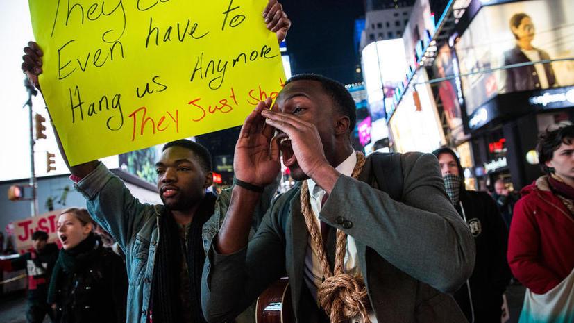 Экс-офицеры полиции Лос-Анжелеса спели песню про «мёртвого Майкла Брауна»