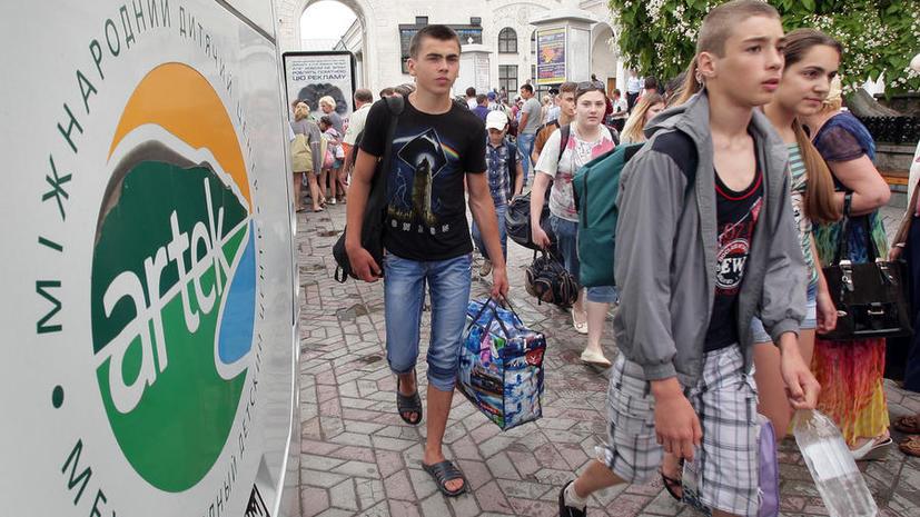 Пограничники Украины не выпустили в Россию автобус с 38 беженцами из Славянска, включая грудных детей