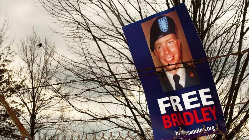 Брэдли Мэннинга выдвинули на соискание Нобелевской премии мира