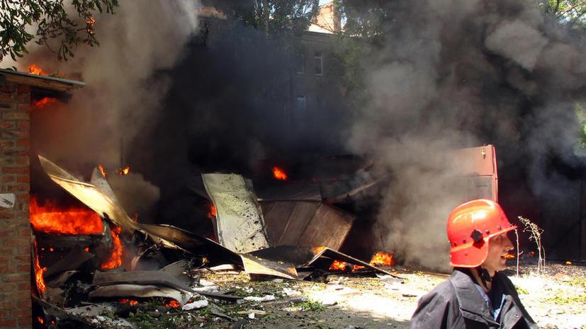 Десятки мирных жителей в Луганске стали жертвами удара украинской армии, которого «не было»
