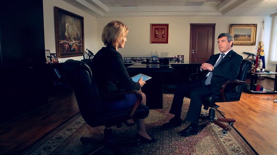 Анатолий Исайкин в интервью RT: Эффективность российского оружия в Сирии делает ему хорошую рекламу