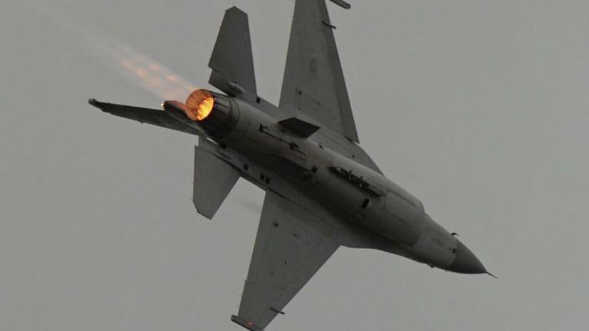 Американцы запустили беспилотник, сделанный из истребителя F-16