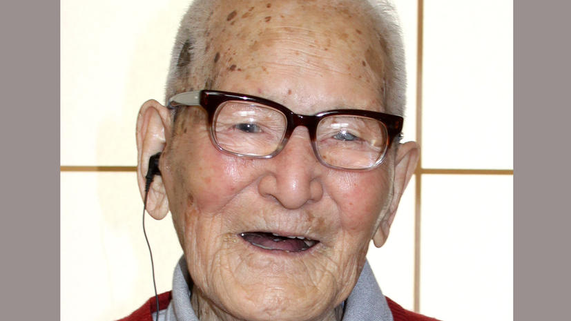 115-летний Хироемон Кимура признан самым долгоживущим человеком на Земле
