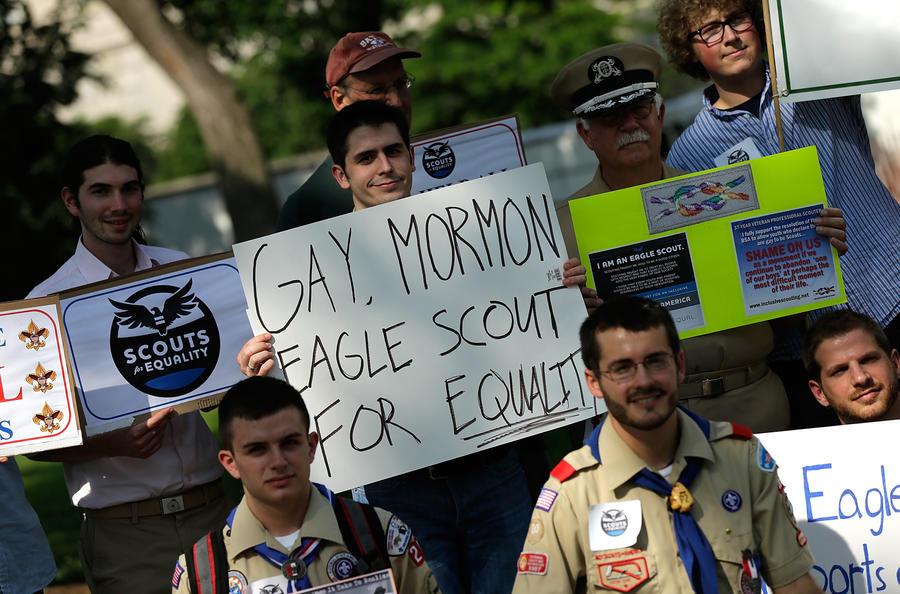 В ряды американских бойскаутов начали набирать геев