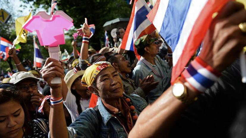 Оппозиция Таиланда может провести «показательный захват» правительственных зданий