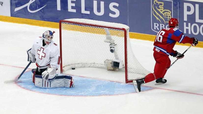 Сборная России вышла в полуфинал молодежного Чемпионата Мира по хоккею