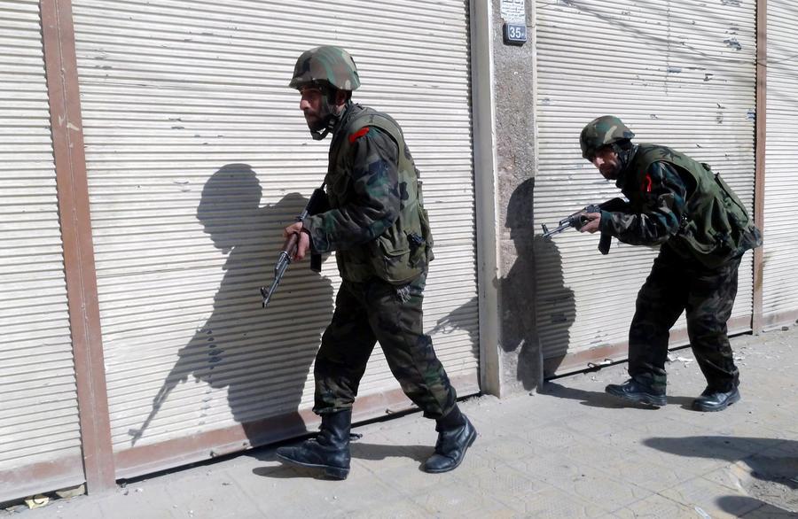 Сирийские повстанцы подходят к центру Дамаска