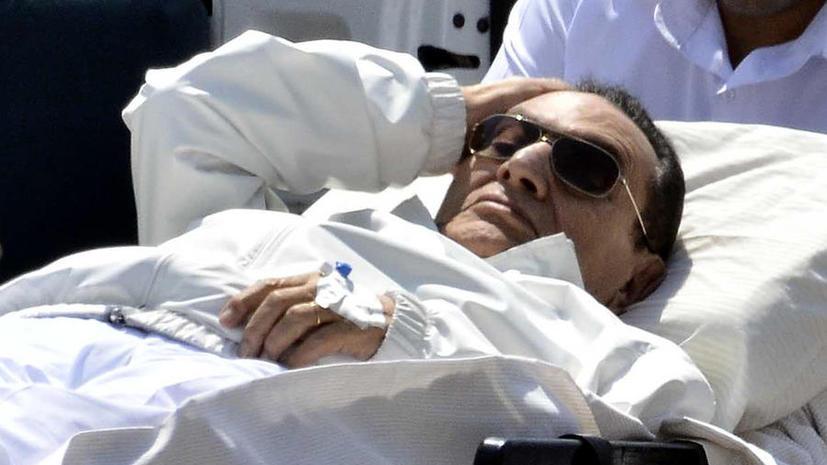 Суд Египта: Хосни Мубарак может быть освобожден из-под стражи, но с одним условием