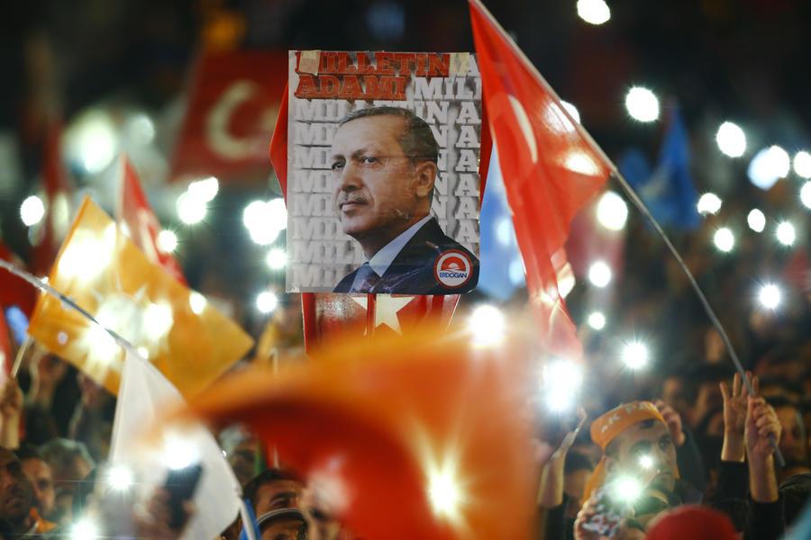 Реджеп Тайип Эрдоган о выборах в Турции: Граждане поддержали единство и целостность