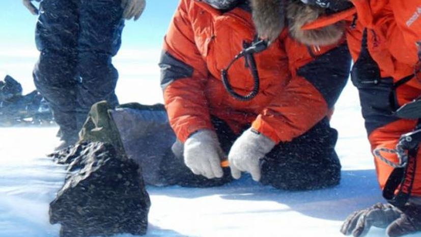В Антарктике найден мега-метеорит