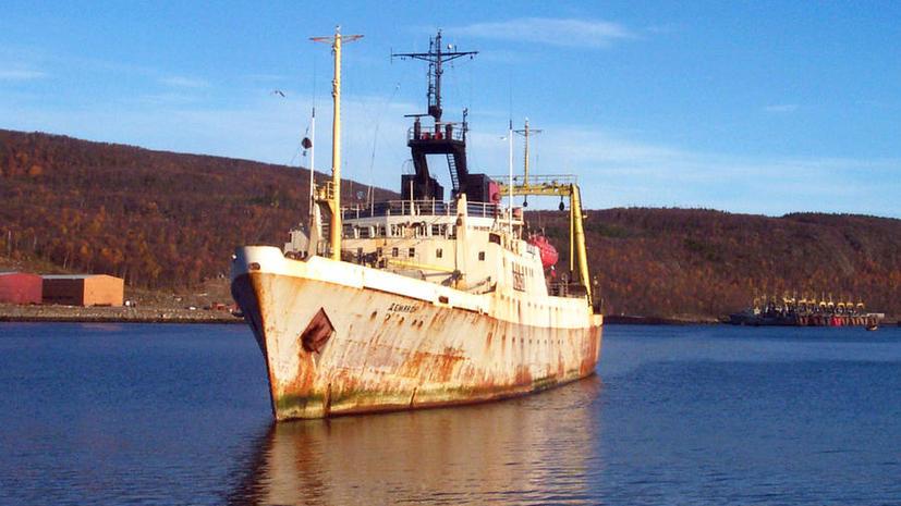 Норвежский патруль задержал в северных водах российский траулер «Новоазовск»