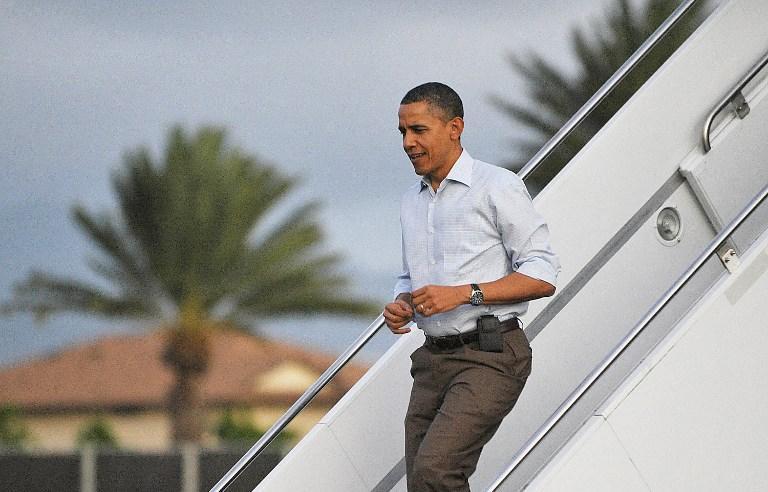 Барак Обама тратит на отдых десятки миллионов бюджетных долларов