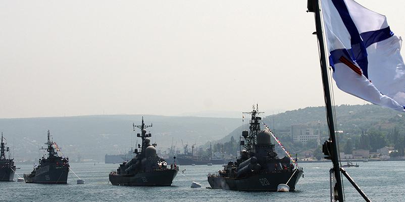 Российский флот проведет боевые маневры у берегов Сирии