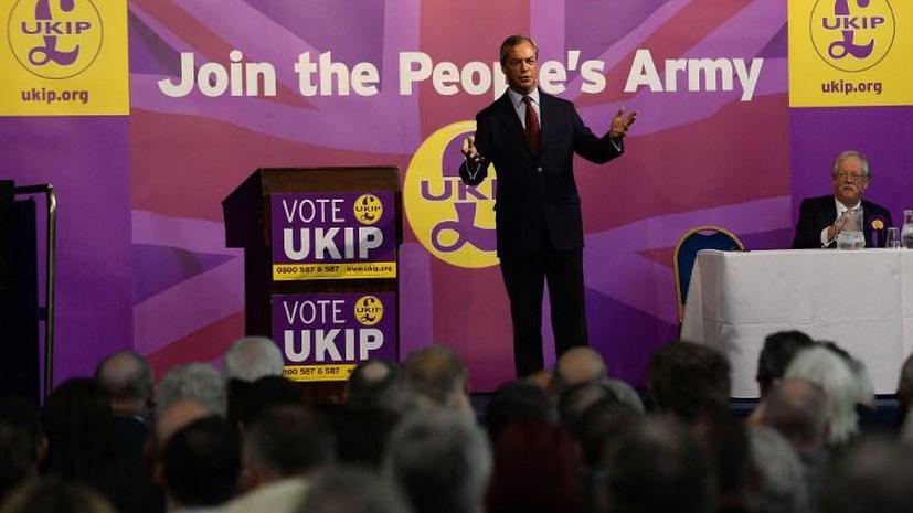 Британская партия UKIP может вытеснить тори из парламента Великобритании