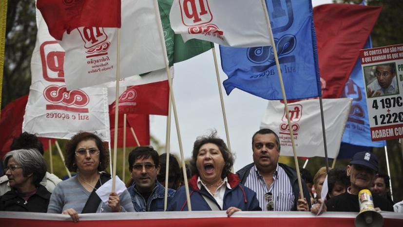 Португальские профсоюзы готовят Ангеле Меркель «теплый» прием