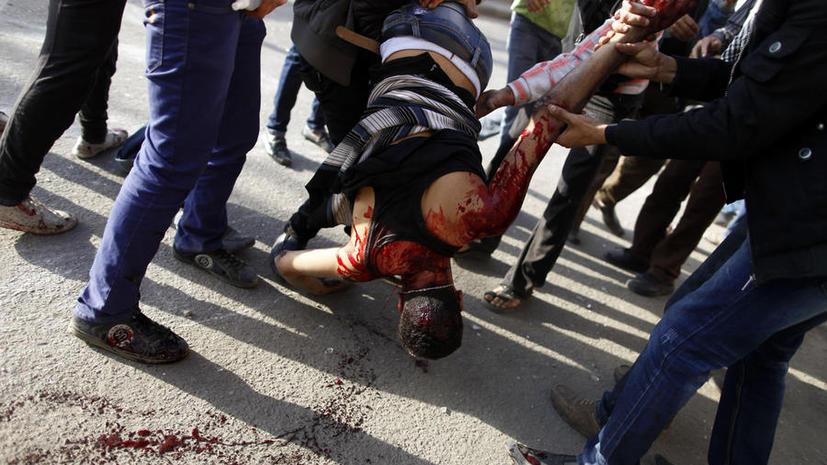Толпа в Египте линчевала двух мужчин, пытавшихся совершить кражу