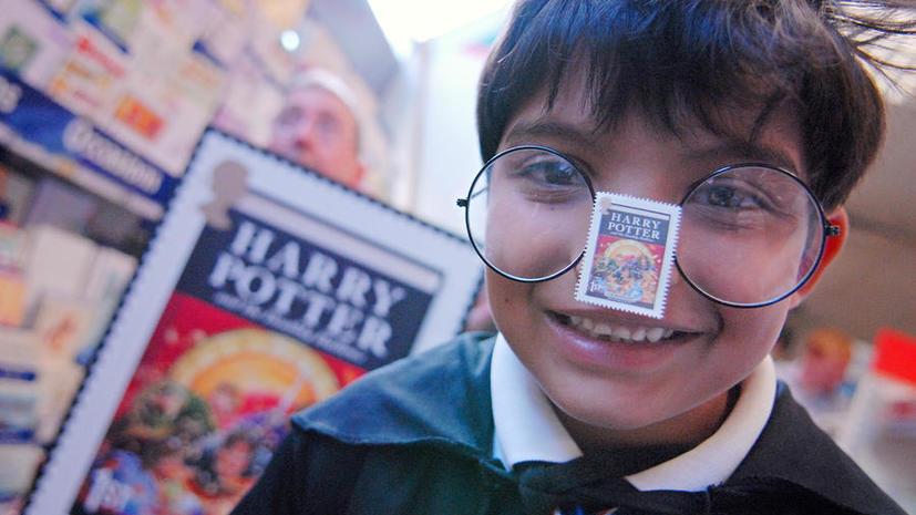Марки с Гарри Поттером раздражают сотрудников почты и коллекционеров