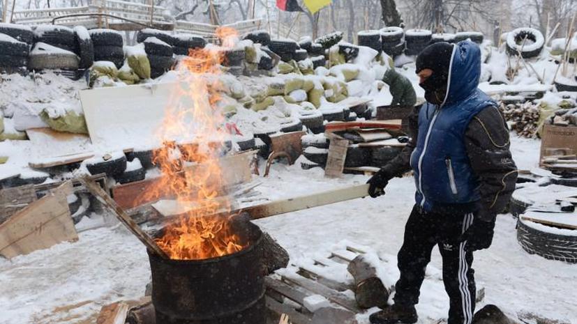 Активисты оппозиции вновь захватили облгосадминистрацию Ивано-Франковска
