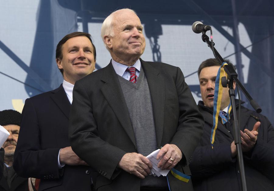 Американский сенатор Джон Маккейн: Украина должна войти в НАТО
