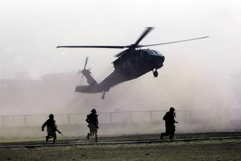 Сирийские повстанцы заявляют о сбитых вертолетах