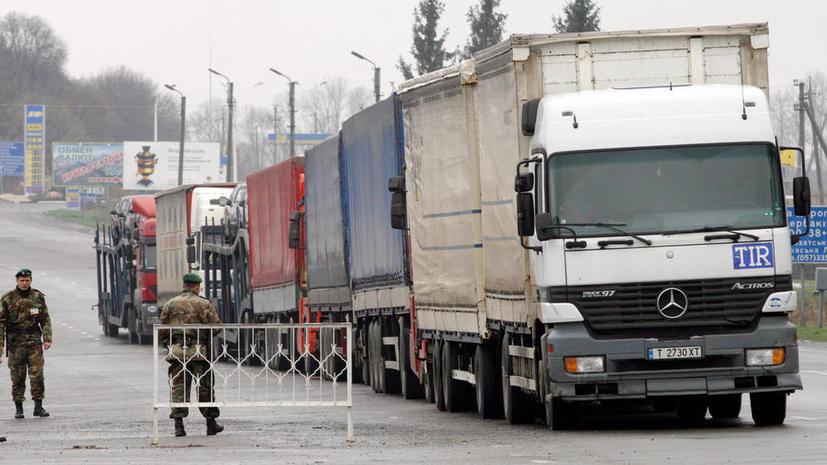 Украинская оппозиция пыталась ввезти контрабандную гуманитарную помощь на Майдан