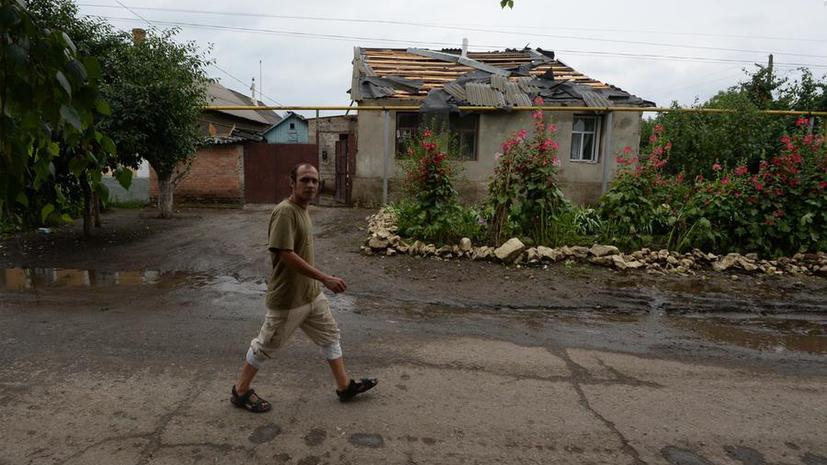 Журналист: Целью украинских военных был штаб Луганской народной армии