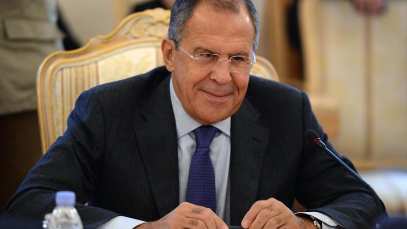 Сергей Лавров: Россия открыта к равноправному диалогу и не заинтересована в «войне санкций»